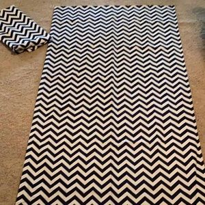 Other - Chevron lined curtains